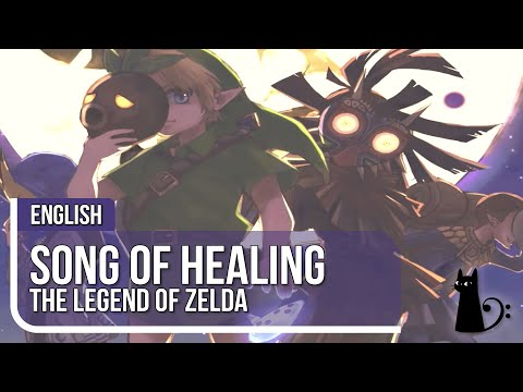 """Song of Healing"" (Majora's Mask) Vocal Cover by Lizz Robinett"