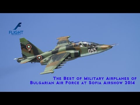 AIRSHOW - The BEST of SOFIA AIRSHOW 2014 - Video 4K UltraHD