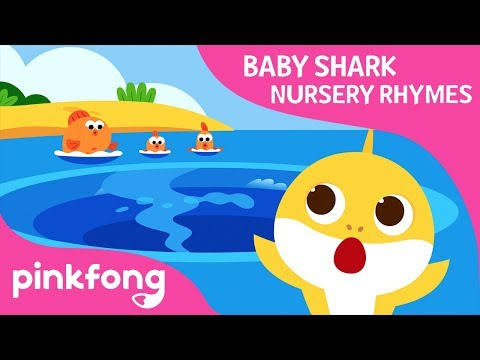 There's a Hole in the Middle of the Sea | Baby Shark Rhymes | Pinkfong Songs for Children