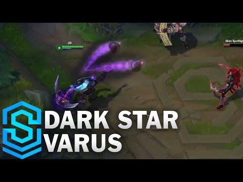 Dark Star Varus Skin Spotlight - Pre-Release - League of Legends