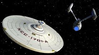 Emergency Saucer Separation . Star Trek Edit