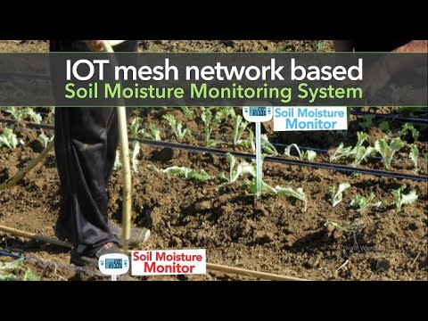 Esp8266  Mesh Network Agriculture System