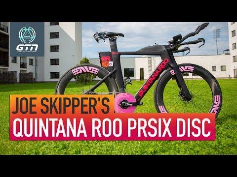 Joe Skipper's Quintana Roo PRsix Disc Triathlon Bike