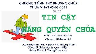 HTTL HUẾ - Chương trình thờ phượng Chúa - 05/09/2021