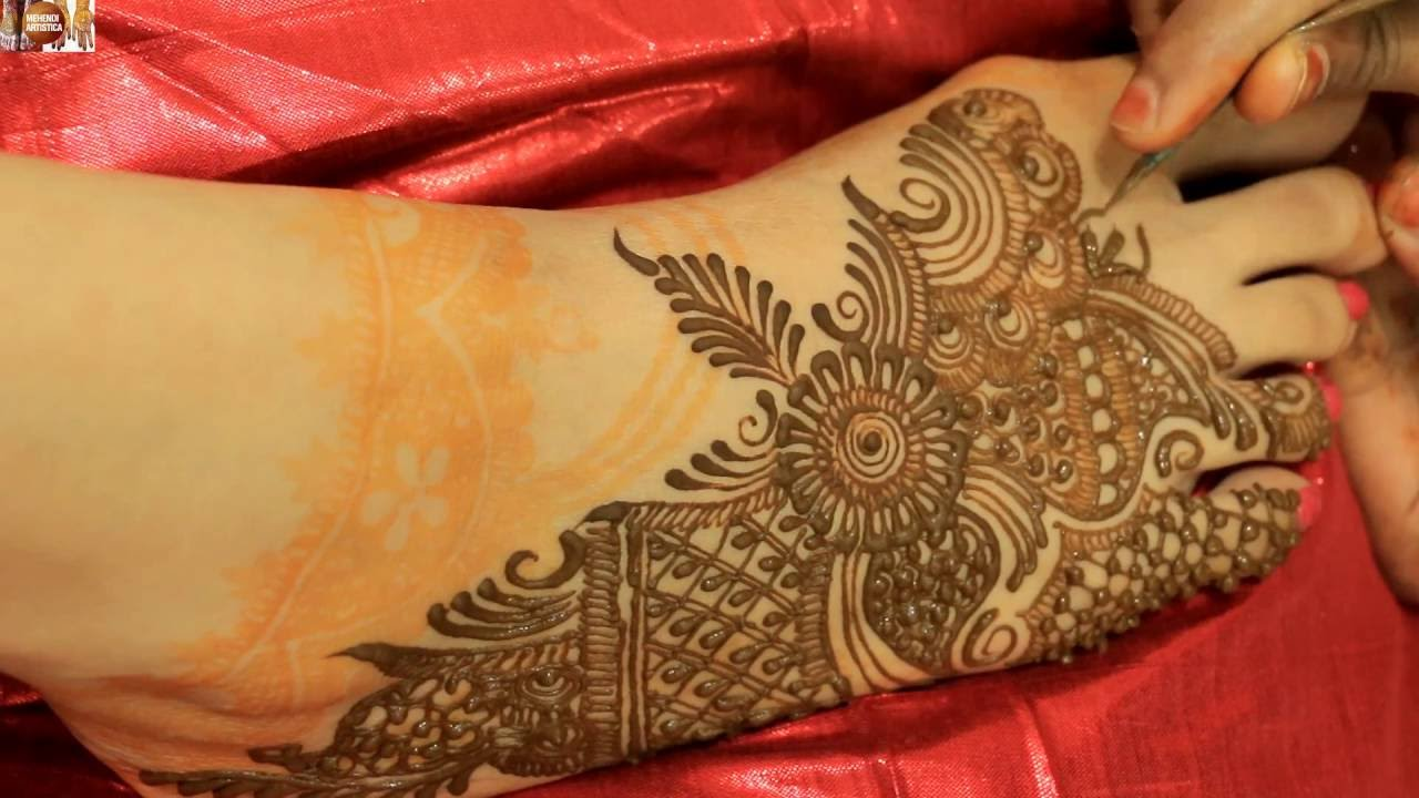 Mehndi Legs Images : Indian henna mehendi tattoo on legs:mehndiartistica easy mehndi