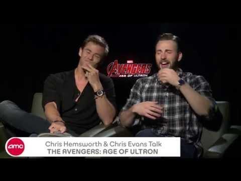 Chris Hemsworth & Chris Evans Chat THE AVENGERS: AGE OF ULTRON