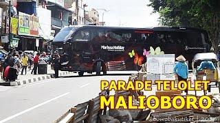 "TELOLET PARADE ""Mengguncang"" Malioboro"