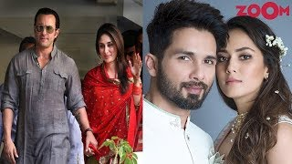 Highest Age Gap Between Bollywood Celebrity Couples | Shahid & Mira, Saif & Kareena & More