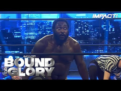Willie Mack Takes Out EVERYONE at Bound for Glory 2018 LIVE on Pay-Per-View!