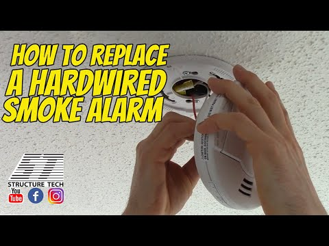 How To Replace A Hardwired Smoke Alarm Structure Tech Home