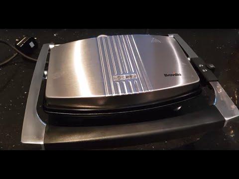 Breville VST025 Sandwich Press In Stainless Steel