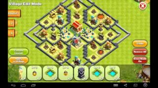 Hero Sky Town Hall (Level 8) War Base Design - The Core