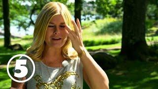 Pernilla Wahlgren tappar Micael Bindefelds antika glas
