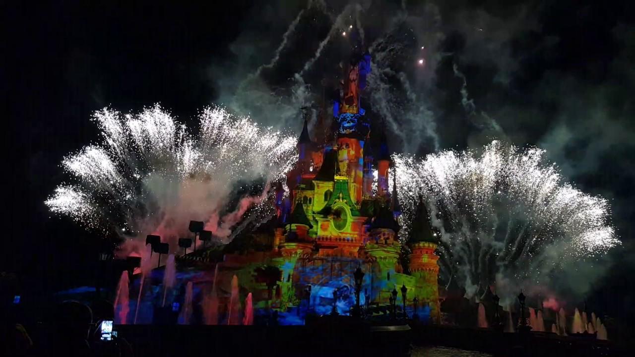 Disneyland paris disney illuminations news show nocturne 2017 youtube - Illumination noel paris 2017 ...