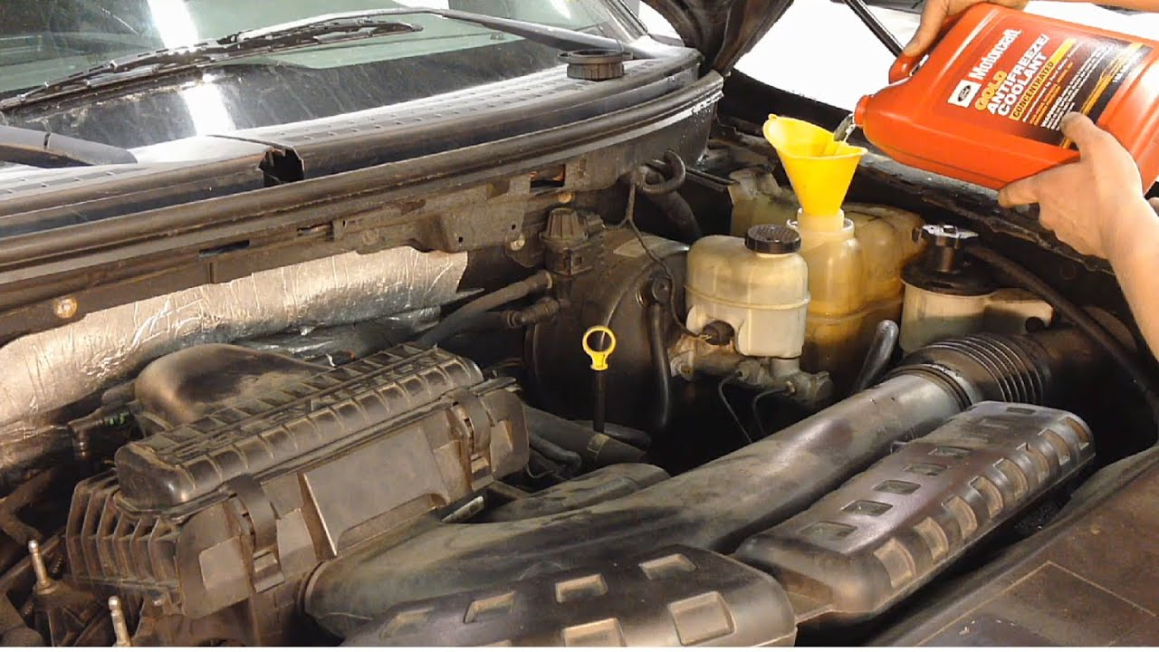 2006 Ford F 150 Fuel System Diagram How To Perform A Coolant Flush On Your Ford Vehicle Youtube