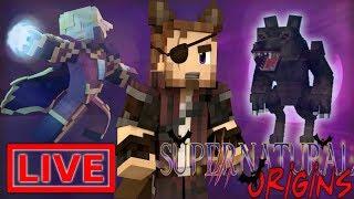 Minecraft Supernatural Origins #33.5 (Live Modded Survival)