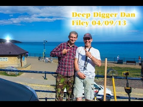 Gold and Silver, metal detecting with deep digger dan.