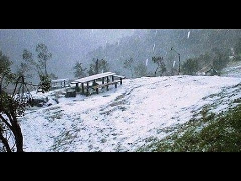 El Salvador Snowfall 15°N Latitude & Summer Snow in Peru | Mini Ice Age 2015-2035 (132)