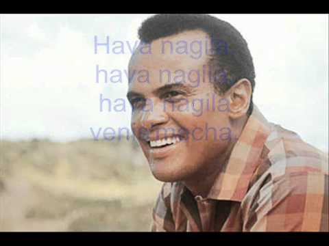 Harry Belafonte ~ Hava nagila +Lyrics +English sub