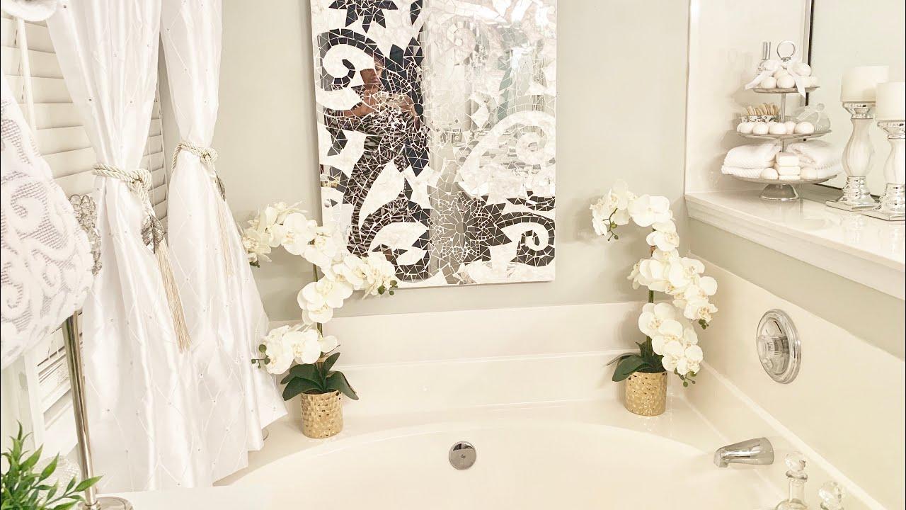 Master Bathroom Decorating Ideas Tour And Organization