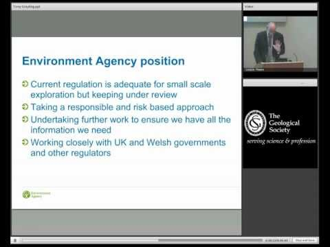 What is the regulatory framework for shale gas exploration and production? With Tony Grayling