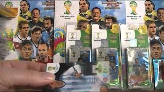 FIFA WORLD CUP BRASIL 2014 - BLISTRY Z BIEDRONKI :)