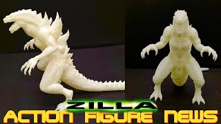 A New Zilla Toy!!! - YMS-F Godzilla 1998 Tristar Vinyl Figure - Action Figure News