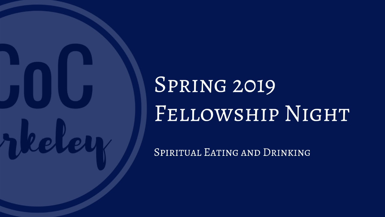 2019-02-13 Fellowship Night