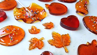 Lollipop at home // How to make sugar candy recipe