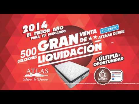 Gran venta de liquidacion, 500 Colchones Atenas de Restonic   YouTube
