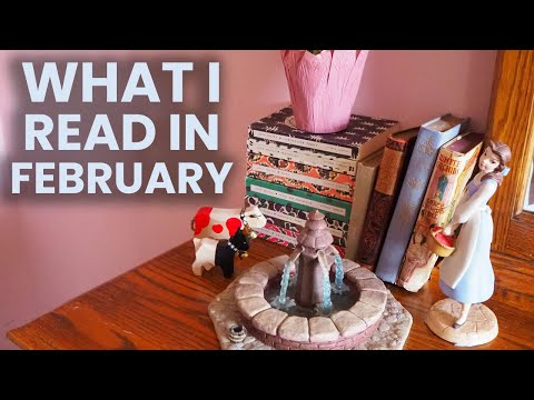 reading-wrap-up-february-2020- -beautiful-old-books-&-lenten-reads