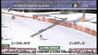 ARCHIVO DIFILM COPA MUNDIAL DE ESQUI ALPINO 09/02/96
