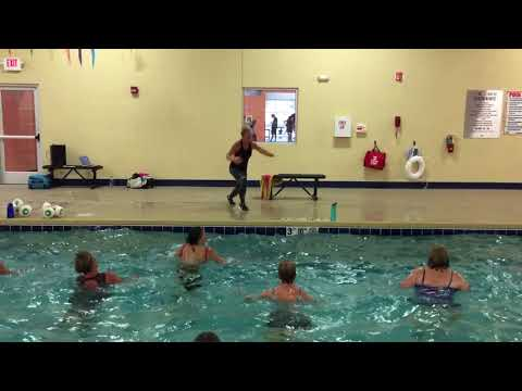 Aqua Zumba with ZES Kelly Bullard at Xperience Fitness Tuesday mornings 9:30am… BELIEVER