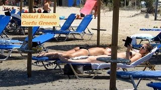 Sidari Beach Corfu Greece June 2015