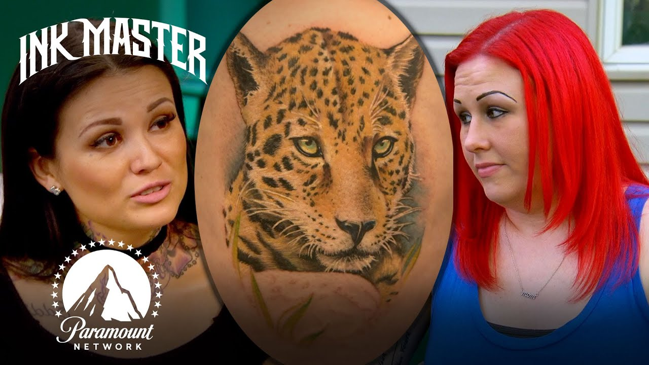 Can Tatu Baby Pull Off This Unfinished Coverup Tattoo? | Ink Master Redemption Story