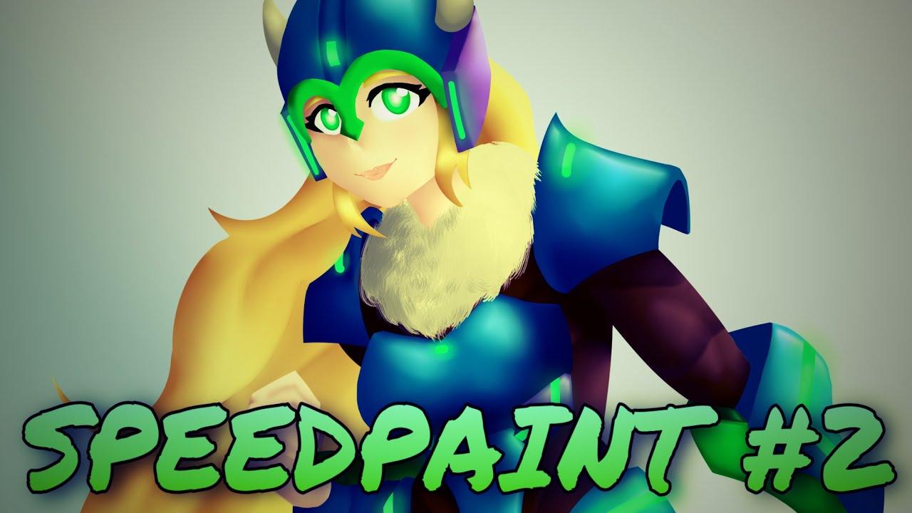 OC Speedpaint #3 | Evangeline Cleodeath