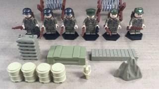 Армия НЕМЦЕВ - Вторая Мировая война!! (ЛЕГО-аналог)