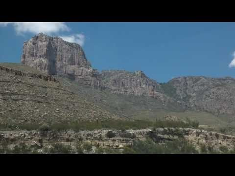 Texas travel drive to Guadalupe National Park!
