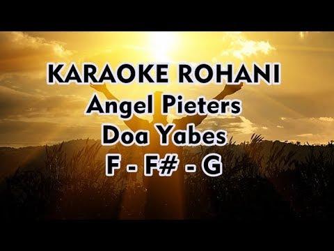 Karaoke Rohani - Doa Yabes - Angel Pieters