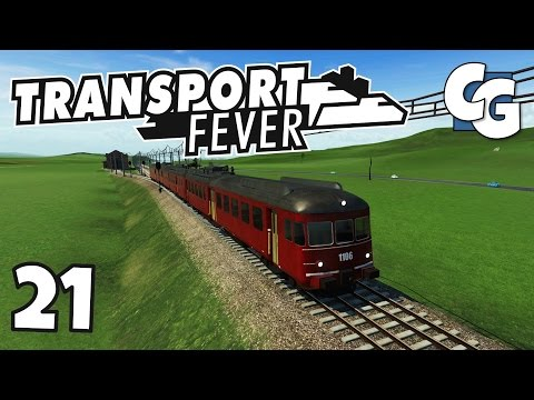 Transport Fever - Ep. 21 - Passenger Train Conundrum? - Transport Fever Gameplay