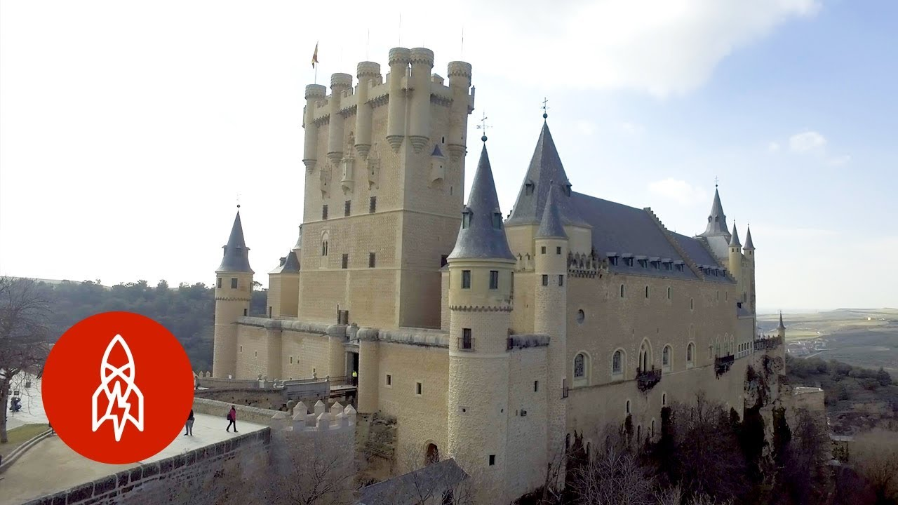 The Spanish Castle That Inspired Walt Disney
