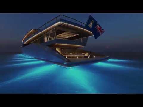 The 262' (80M) ZEN Superyacht Design Concept by Sinot Exclusive Yacht Design