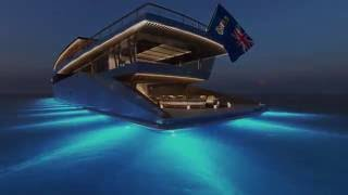The 262' (80M) ZEN Superyacht Design Concept by Sinot Exclusive Yacht Design
