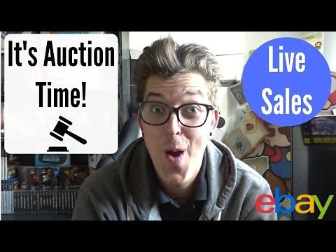 Reselling On eBay For Profit - Blind Pickup Live Auctions Ending! - How much will it all sell for??