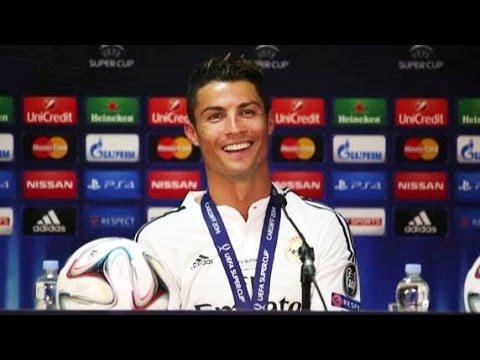 Ronaldo Dedicates His Super Cup Man Of The Match Award To Sir Alex Ferguson
