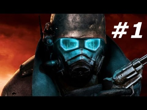 Fallout New Vegas Gameplay Walkthrough Part 1-The Courier