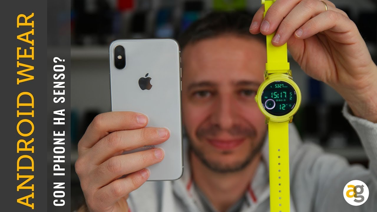 android wear iphone iphone e android wear ha senso 10078