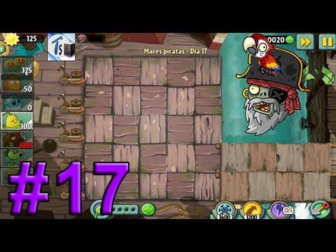 Plants Vs Zombies 2, Mares Piratas Día 17