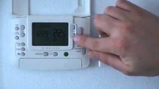 Instructievideo   Draadloze verbindingsprocedure Honeywell Chronotherm Wireless Modulation