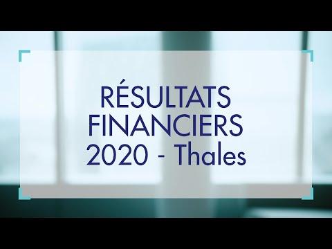 Résultats annuels 2020 Thales